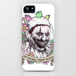 xoxo Twisty (color) iPhone Case