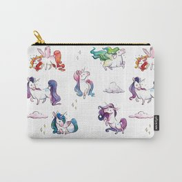 Chubby Unicorns Carry-All Pouch