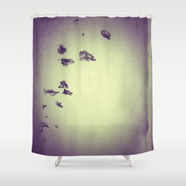The Flocking Dreams Shower Curtain