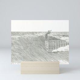 Cheater 5 on a 45' Mini Art Print