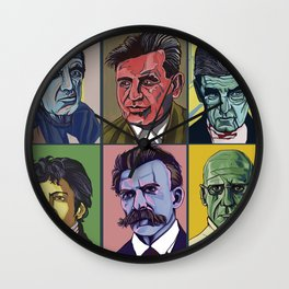 Thinkers Wall Clock