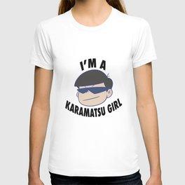 i'm a karamatsu girl T-shirt