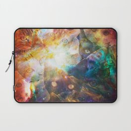 The Cat Galaxy Laptop Sleeve