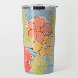Nasturtium Travel Mug