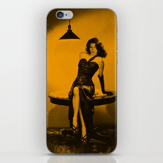 Joan Bennett iPhone & iPod Skin