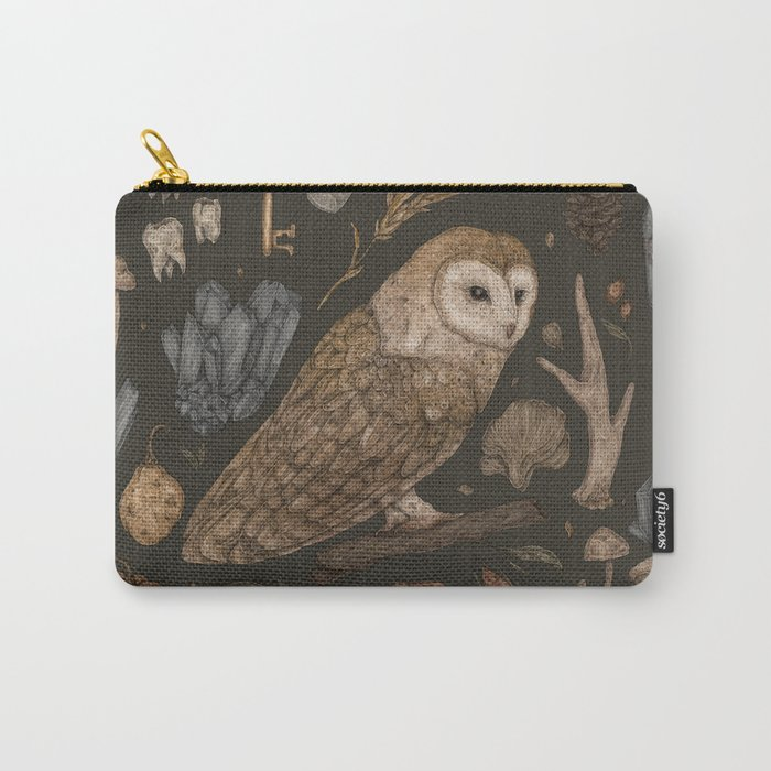 Harvest Owl Carry-All Pouch