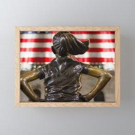 Fearless but Distant Framed Mini Art Print