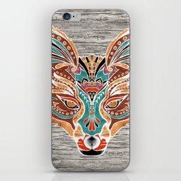 Zorro! (Bohemian Fox) iPhone Skin