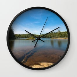Rock Under Water Photography Wall Clock