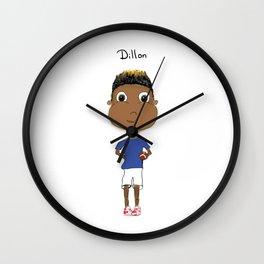 Personalized Art - Dillon Wall Clock