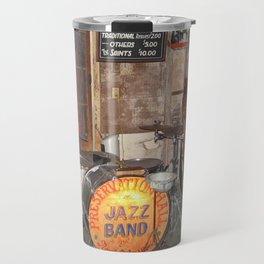 Jazz Band Stage Travel Mug