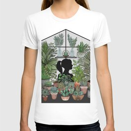 As For Me, I Will Hide Amongst the Plants T-shirt