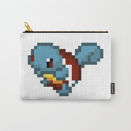Squirtle pixel art Carry-All Pouch