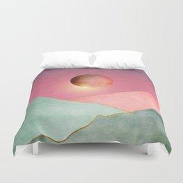 Surreal sunset 02 Duvet Cover