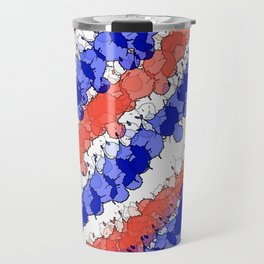 Patriotic Splatter Travel Mug