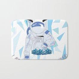 Crystal Astronaut Bath Mat