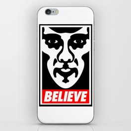 Believe - Sherlock iPhone Skin