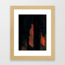 beneath the cinders Framed Art Print
