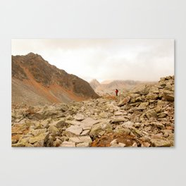 Mountains speak for themselves Canvas Print