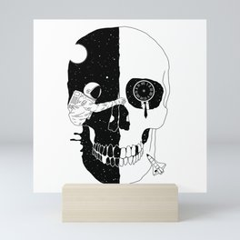 After Life (A Glimpse into a Void or the Moment of a Disappearing Existence) Mini Art Print