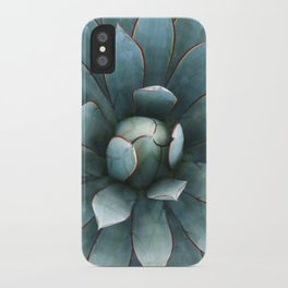 Tranquil Blue Glow iPhone Case