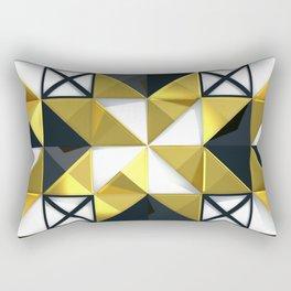 Light Dark and Gold 03 Rectangular Pillow