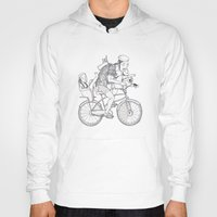 bicycle Hoodies featuring bicycle by Madmi