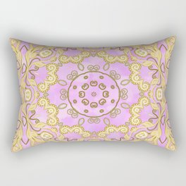 Cassy in Lilac Rectangular Pillow