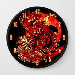 BUG STOMPER Wall Clock
