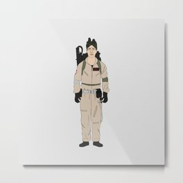 Ghostbusters - Dr. Ray Stantz Metal Print