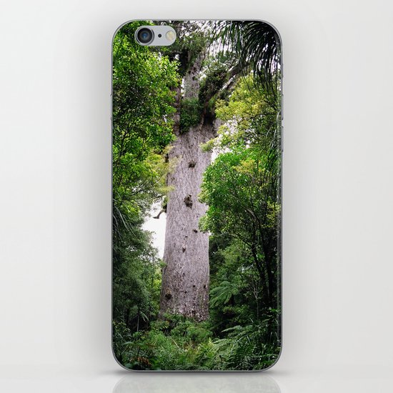 The World's Oldest Wood, Ancient Kauri iPhone & iPod Skin