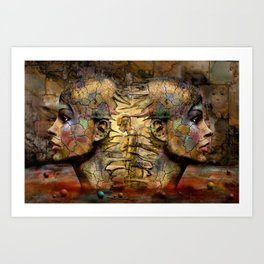 Source of Life Art Print