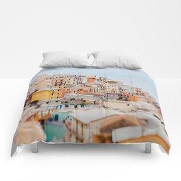 Manarola, Cinque Terre III Comforters