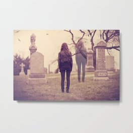 Returning to the Afterlife  Metal Print