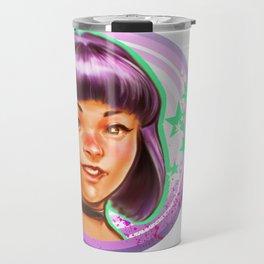 Kawaii Violet Travel Mug