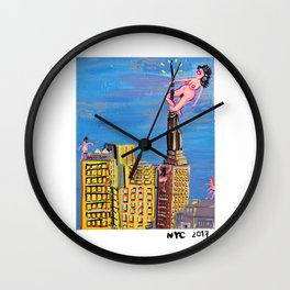 Big Egos out there Wall Clock