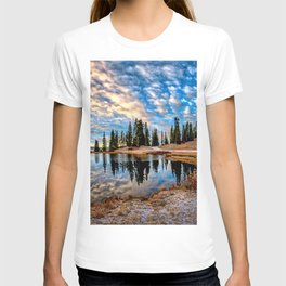 Mornings in the Crested Butte Colorado Mountains   T-shirt