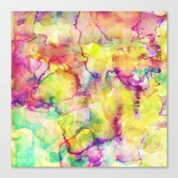 island Canvas Prints featuring Island by Amy Sia