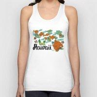 hawaii Tank Tops featuring HAWAII by Christiane Engel