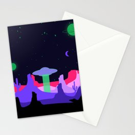 Hello ufo Stationery Cards