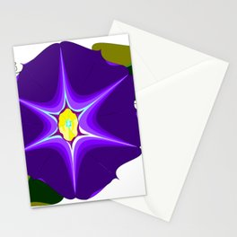 A Large Purple Morning Glory, Wildflower Series Stationery Cards