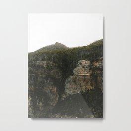 Waterfall Bay Metal Print