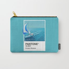 PANTONE SERIES – OCEAN BREEZE Carry-All Pouch