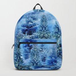 Christmas tree scene Backpack