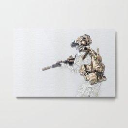 Ready - by Nous Defions Designs. (www.nousdefionsdesigns.com) Metal Print
