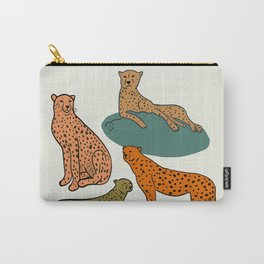 Cheetah Coalition Carry-All Pouch