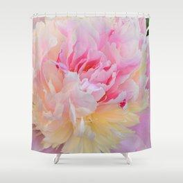 Joy of a Peony by Teresa Thompson Shower Curtain