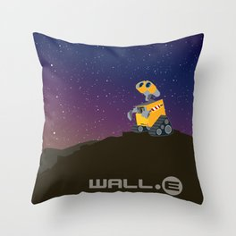Wall.e Throw Pillow