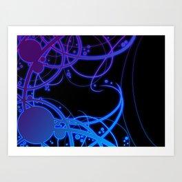 .:Energy Flow:. Art Print