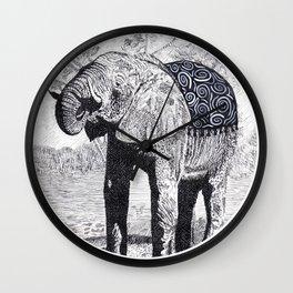 Elefante Wall Clock